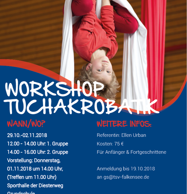 Workshop Tuchakrobatik