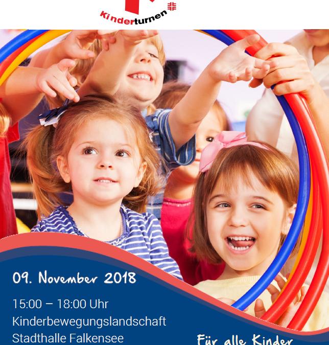 """""""Tag des Kinderturnens"""" – 09. November, 15:00-18:00 Uhr"""