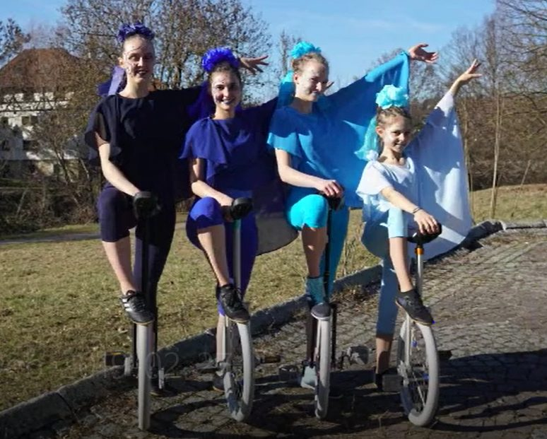 Schwäbischer Einradtag – Über den Tellerrand geschaut –