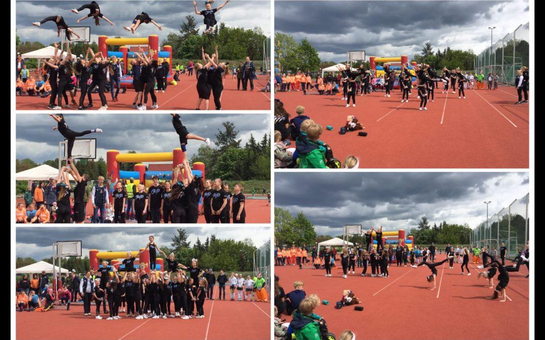 Das Cheer Pack beim Falkenküken-Cup 2019