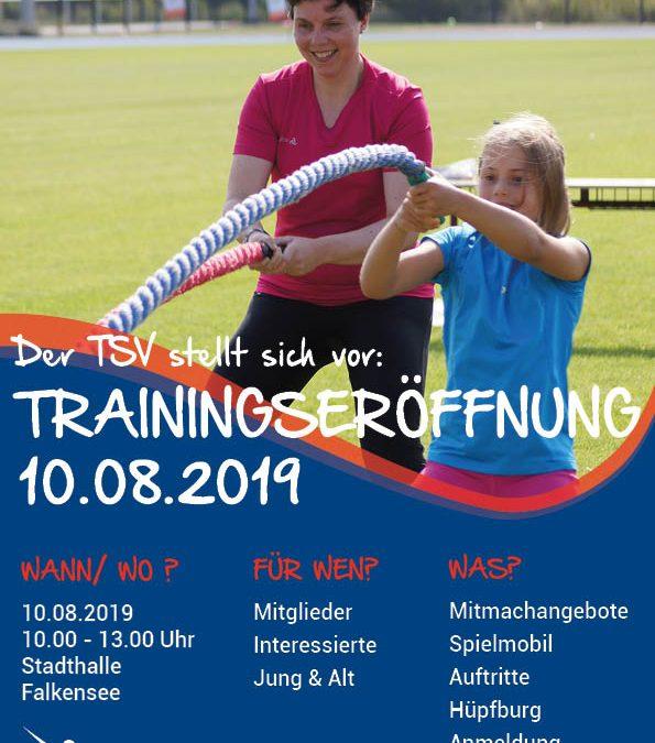 Trainingseröffnung 2019