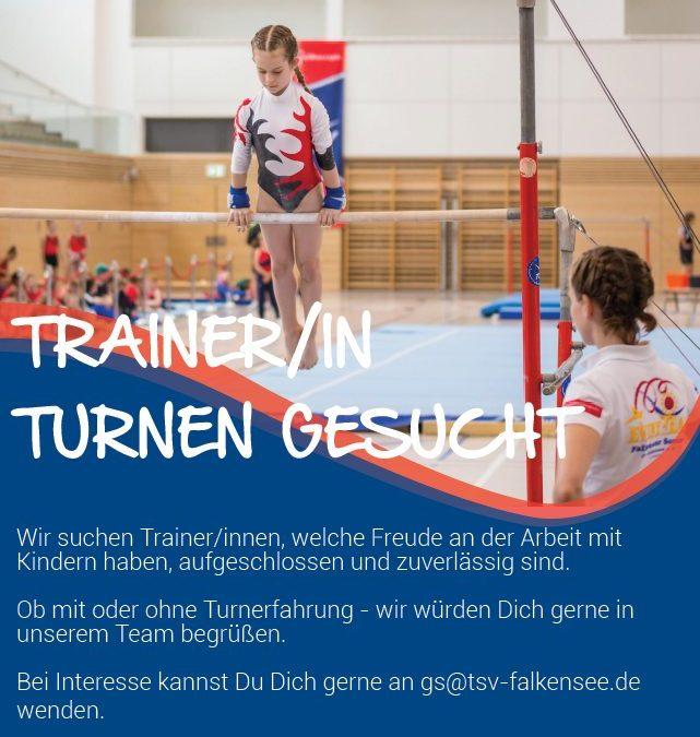 Trainer/in Turnen gesucht!